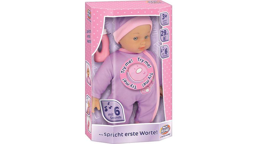 Mueller Toy Place Puppe spricht erste Worte