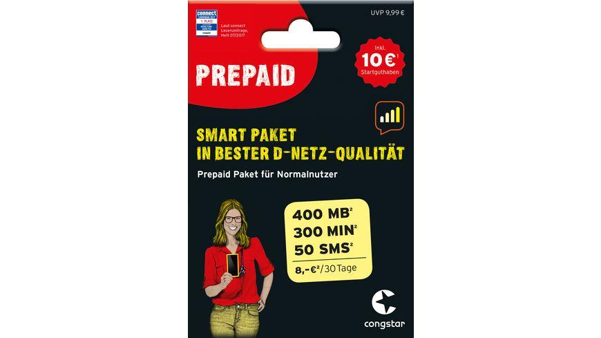SIM KARTE CONGSTAR 10EUR SMART PAKET