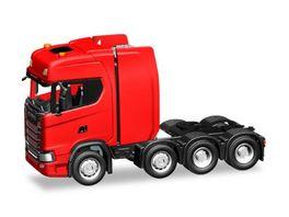Herpa 308601 Scania CS HD Schwerlastzugmaschine rot