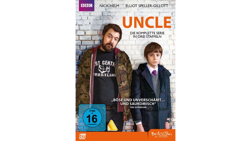 Uncle Die komplette Serie 3 DVDs