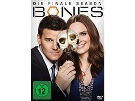 Bones Season 12 3 DVDs