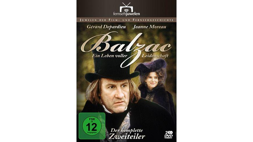 Balzac Ein Leben voller Leidenschaft 2 DVDs
