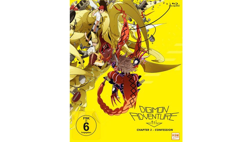 Digimon Adventure tri Chapter 3 Confession