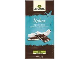 Alnatura Kokos Zartbitter Schokolade
