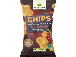 Alnatura Chips im Kessel gebacken Smoked Paprika