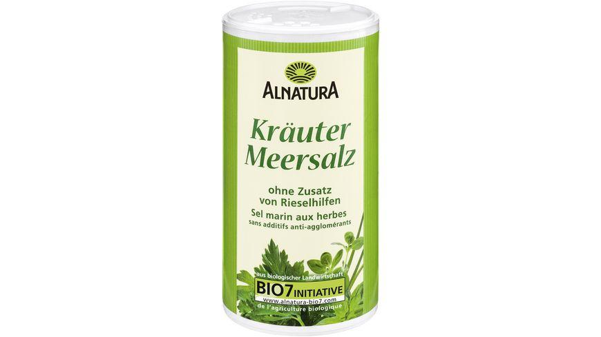 Alnatura Kraeuter Meersalz mit Jod