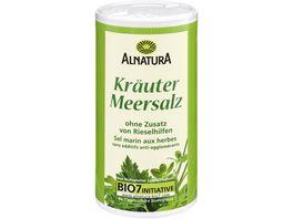Alnatura Kraeuter Meersalz mit Jod Dose 200G
