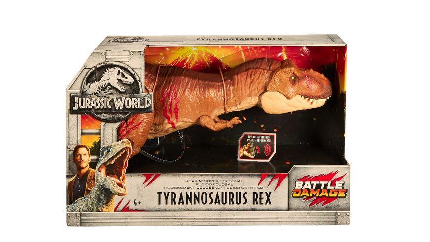 Mattel Jurassic World Tyrannosaurus Rex XXL mit Sound