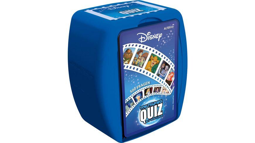 Winning Moves Top Trumps Quiz Disney