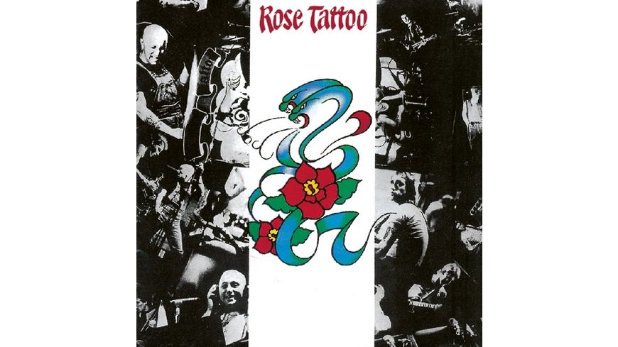 Rose Tattoo rotes Vinyl plus CD
