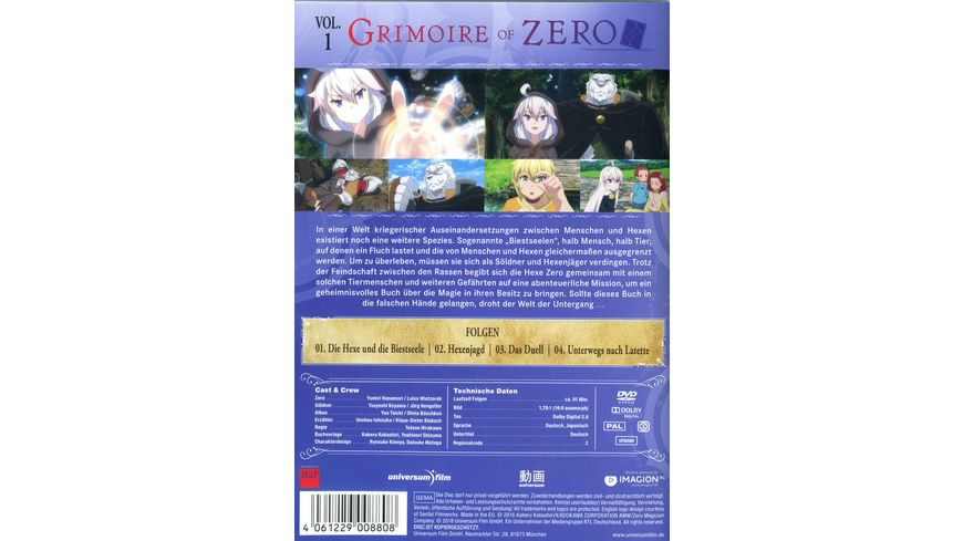 Grimoire of Zero Vol 1