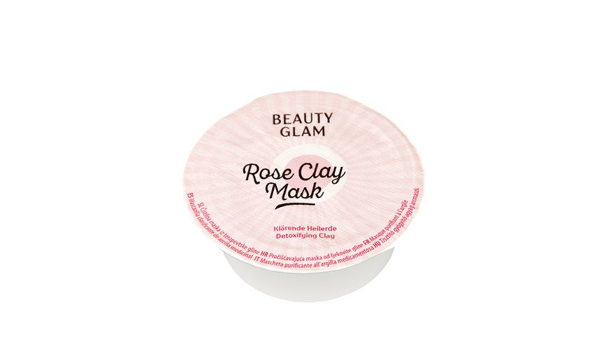 BEAUTY GLAM Rose Clay Mask