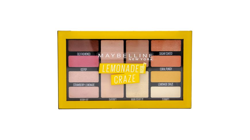 MAYBELLINE NEW YORK Lemonade Bar Lidschatten Palette