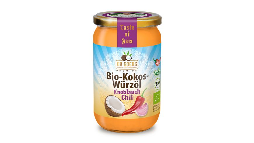 Dr Goerg Premium Bio Kokos Wuerzoel Chili Knoblauch
