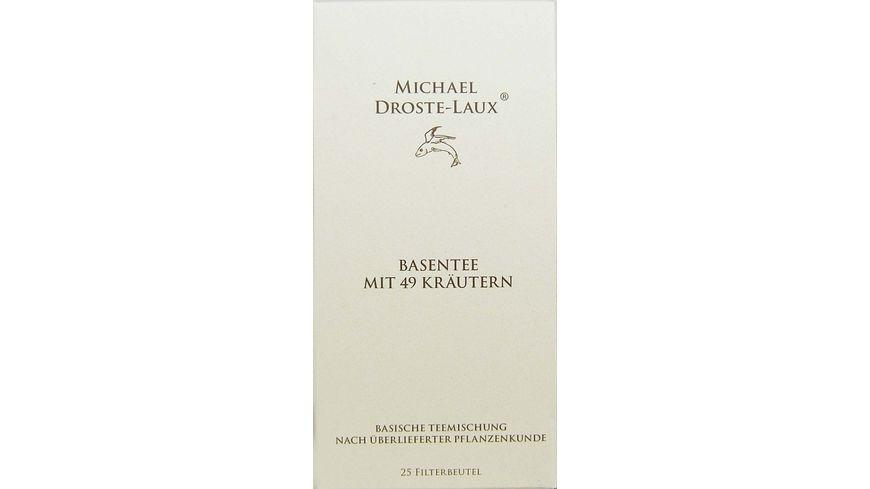 MICHAEL DROSTE LAUX Basentee mit 49 Kraeutern
