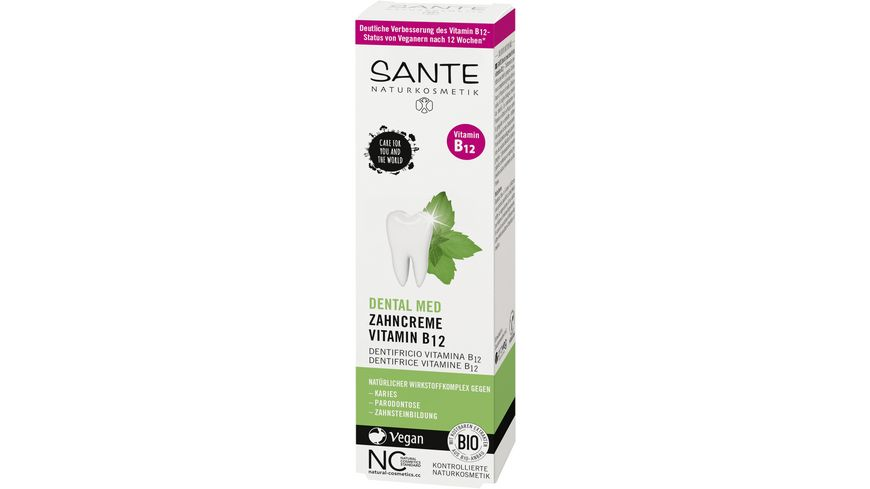 SANTE Dental Med Zahncreme Vitamin B12