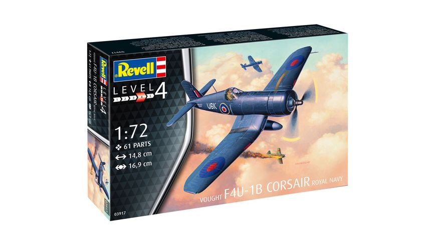 Revell 03917 Vought F4U 1B Corsair Royal Navy