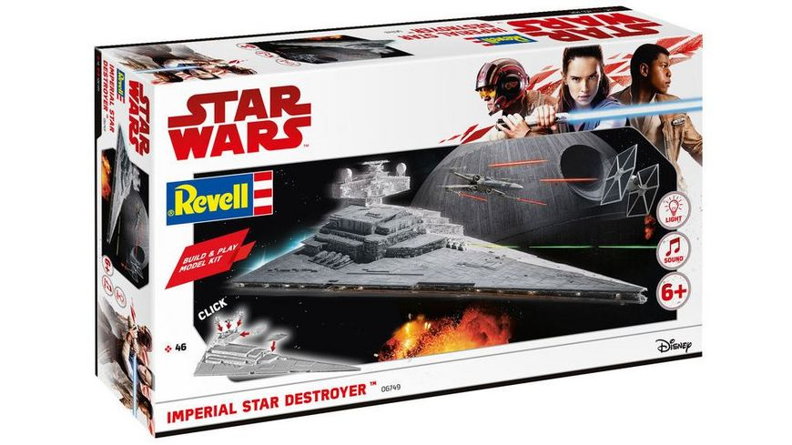 Revell 06749 Star Wars Build Play Imperial Star Destroyer