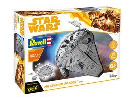 Revell 06767 Star Wars Solo Build Play Millennium Falcon