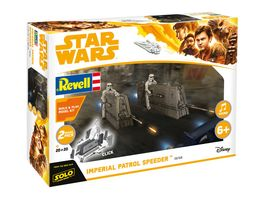 Revell 06768 Star Wars Build Play Imperial Patrol Speeder