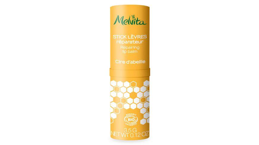 Melvita Schuetzender Lippenpflegestift