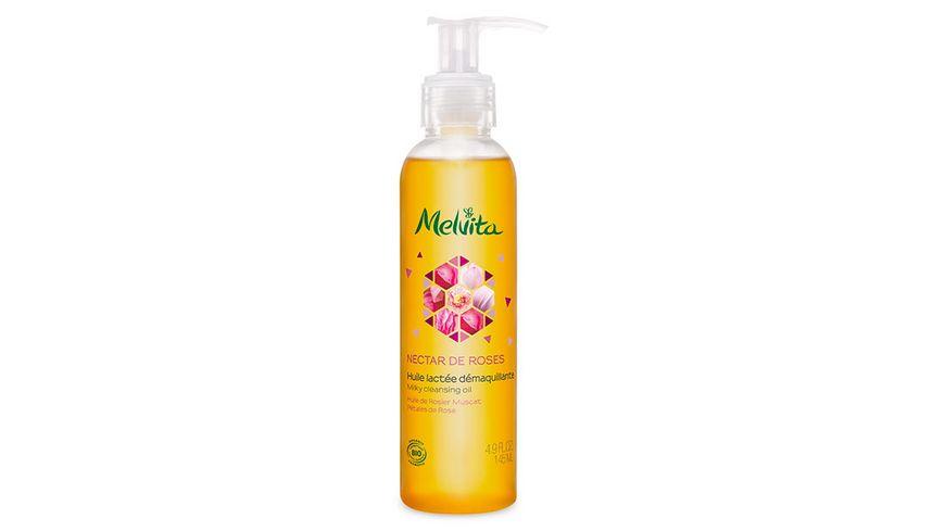 Melvita Rose Milchiges Reinigungsoel