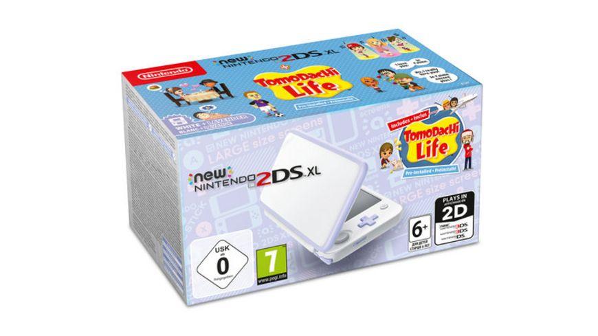 Nintendo 2DS XL Konsole Tomodachi Life