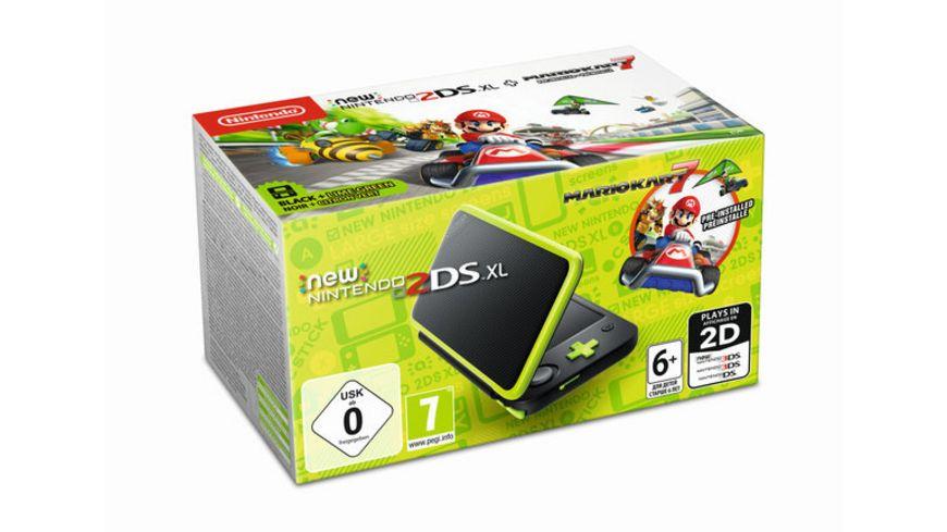 Nintendo 2DS XL Konsole Mario Kart 7
