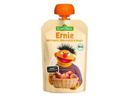 SESAMSTRASSE Ernie Quetschbeutel Apfel Suesskartoffel Pfirsich
