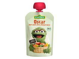 SESAMSTRASSE Oscar Quetschbeutel Apfel Birne Mango Spinat