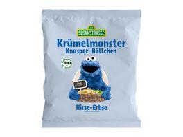 SESAMSTRASSE Kruemelmonster Knusper Baellchen