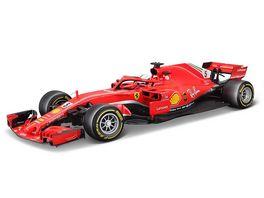 Bburago 1 18 Modellauto Bburago Ferrari SF18 T