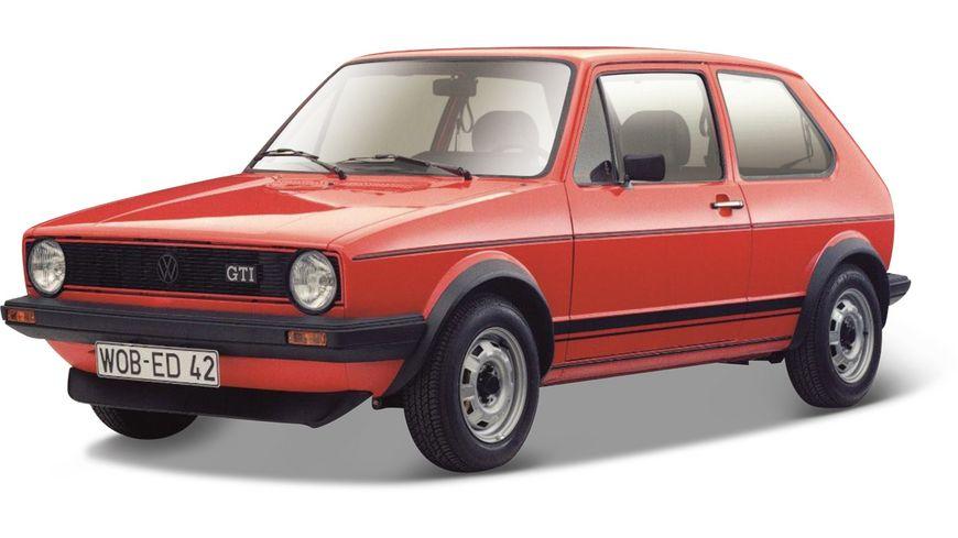 Bburago 1 24 Volkswagen Golf MK1 Gti 1979 rot