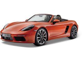 Bburago 1 24 Porsche 718 Boxter lava orange