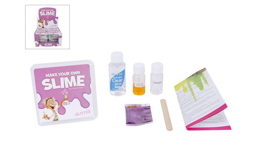 Van Manen DIY Slime Glitter sortiert