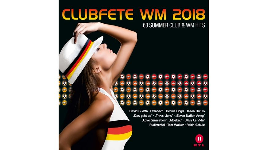 Clubfete WM 2018 63 Club WM Party Hits