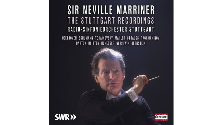 Sir Neville Marriner The Stuttgart Recordings