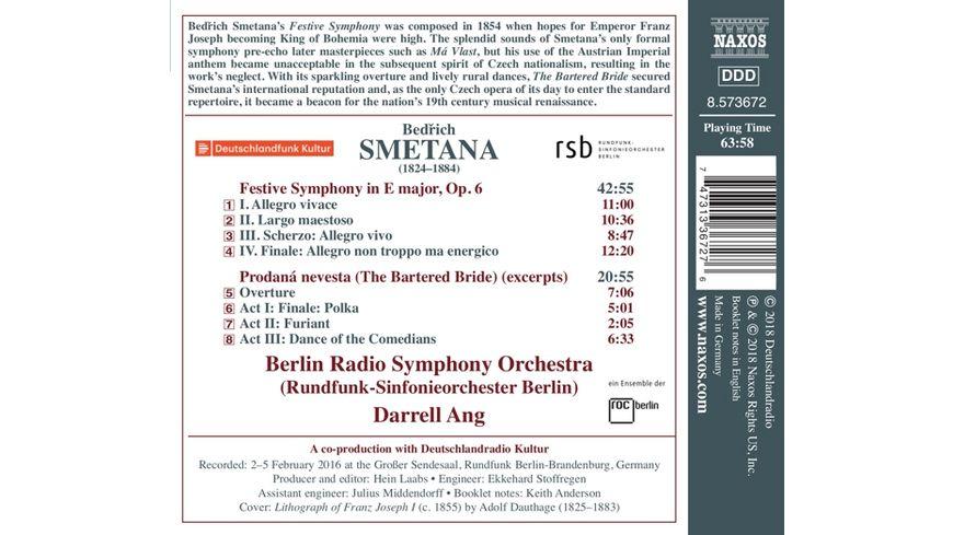 Triumph Sinfonie E Dur op 6