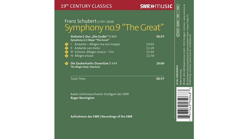 Sinfonie Nr 9 in C Dur Die Grosse D944