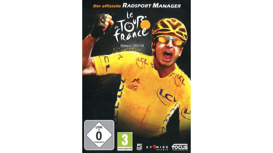 Tour de France 2018 Der offizielle Radsport Man