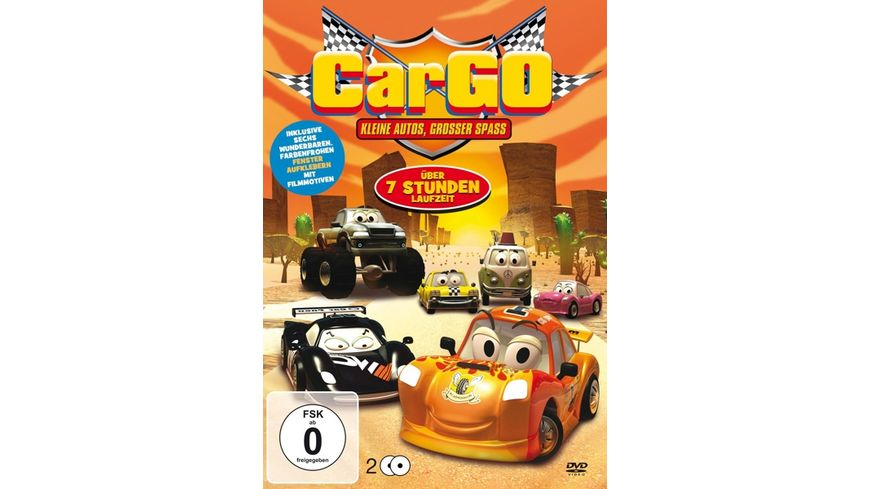 CarGo Box Kleine Autos grosser Spass 2 DVDs