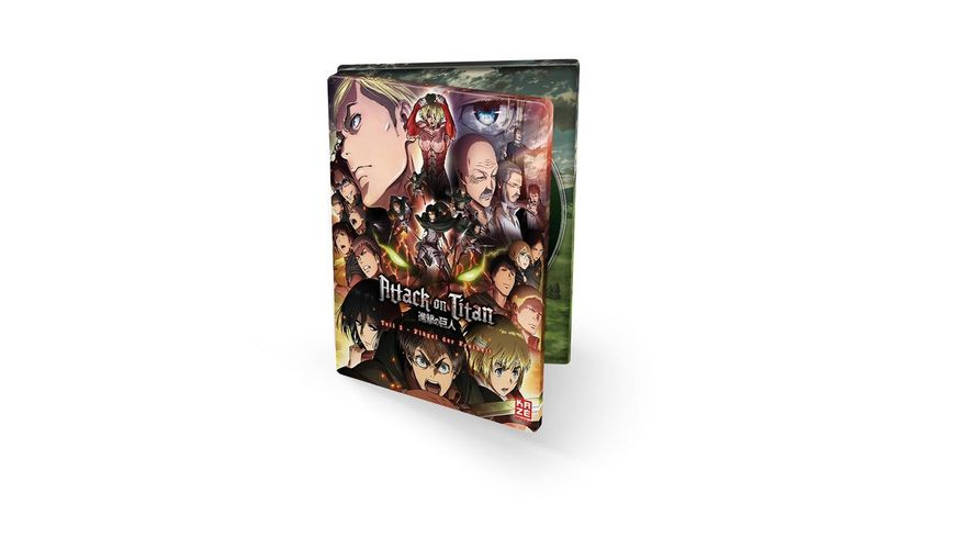 Attack on Titan Anime Movie Teil 2 Fluegel der Freiheit