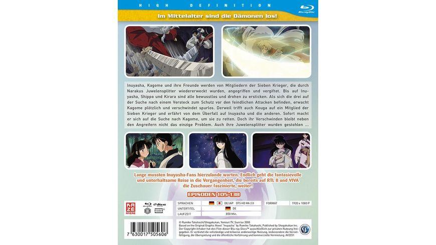InuYasha Die TV Serie Box Vol 5 Episoden 105 138 4 BRs