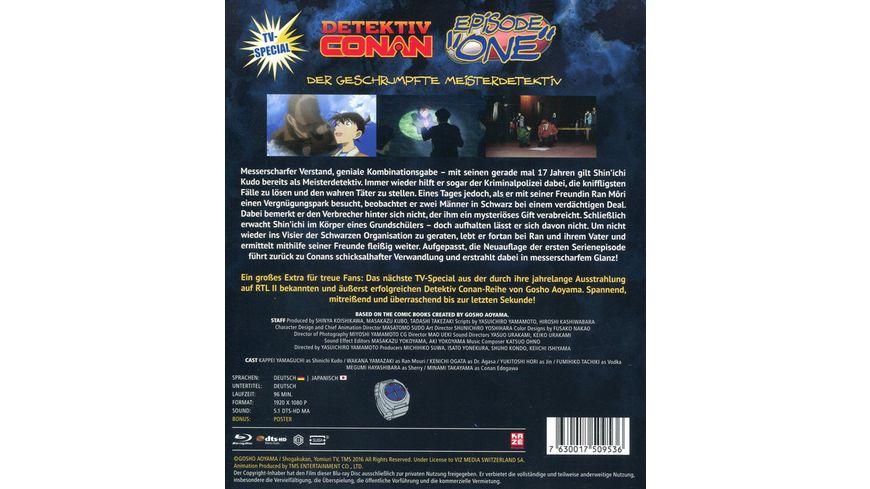 Detektiv Conan Episode ONE Der geschrumpfte Meisterdetektiv