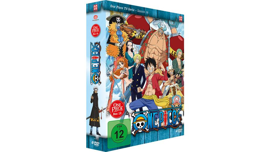 One Piece TV Serie Box Vol 19 Episoden 575 601 exklusive Episode 590 6 DVDs