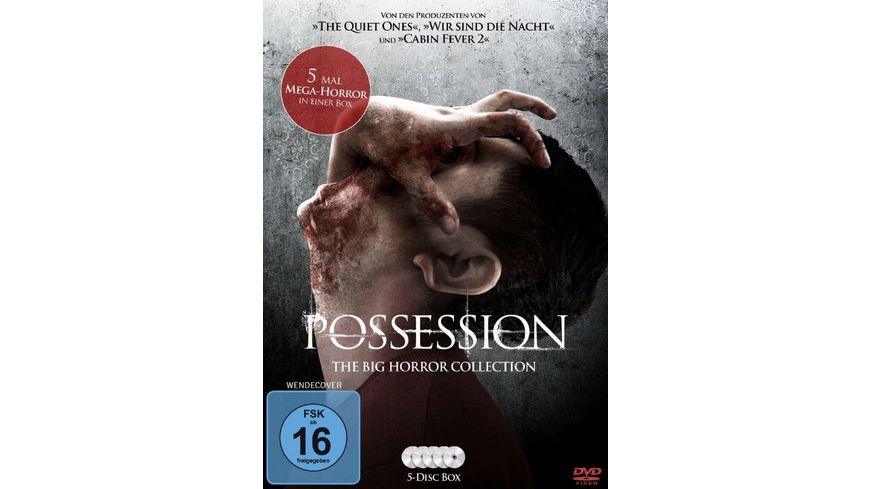 Possession The Big Horror Collection 5 DVDs