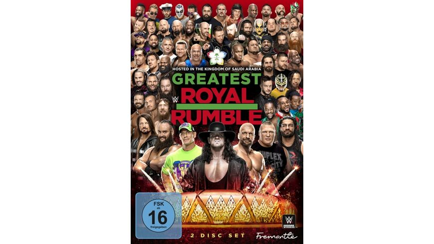 Greatest Royal Rumble 2 DVDs