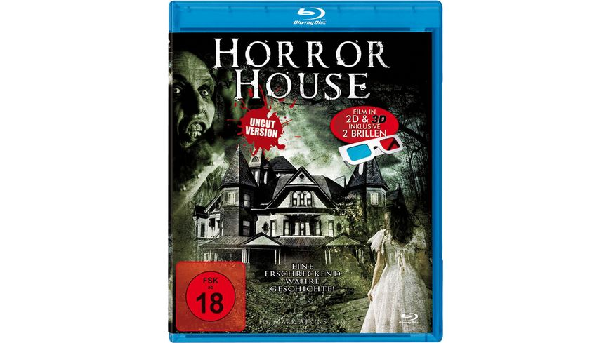Horror House 3D Uncut 2x 3D Brillen