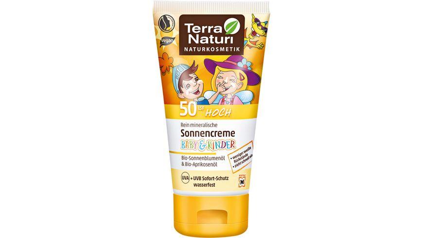 Terra Naturi Kindersonnencreme LSF 50