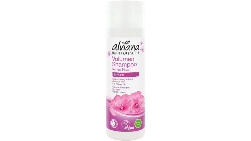 alviana Volumen Shampoo Bio Malve